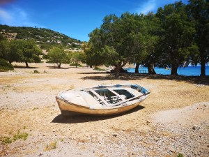 Symi has beautiful beaches only accessible by boat
