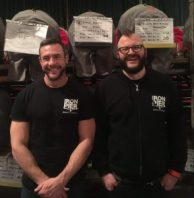 Iron Pier Brewery: Charlie Venner & James Hayward
