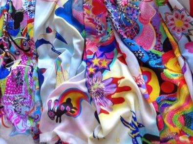Emma Hill: Scarf collection