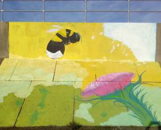 Richard Jeferies: Bee Road mural, Sheerness