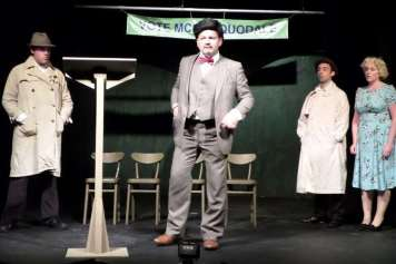 Richard Jeferies in John Buchan's The 39 Steps at Medway Little Theatre