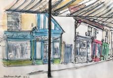 Griselda Cann Mussett: Harbour Street, Whitstable (2019)