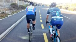 Tempo session with the boys.