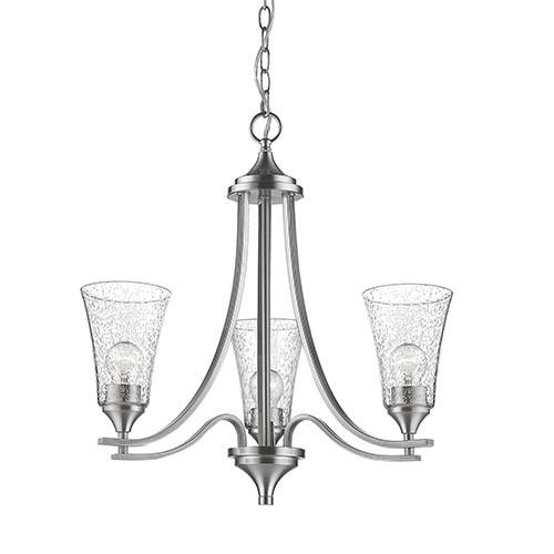 Millennium Lighting 1463-SN Natalie Chandelier In Satin