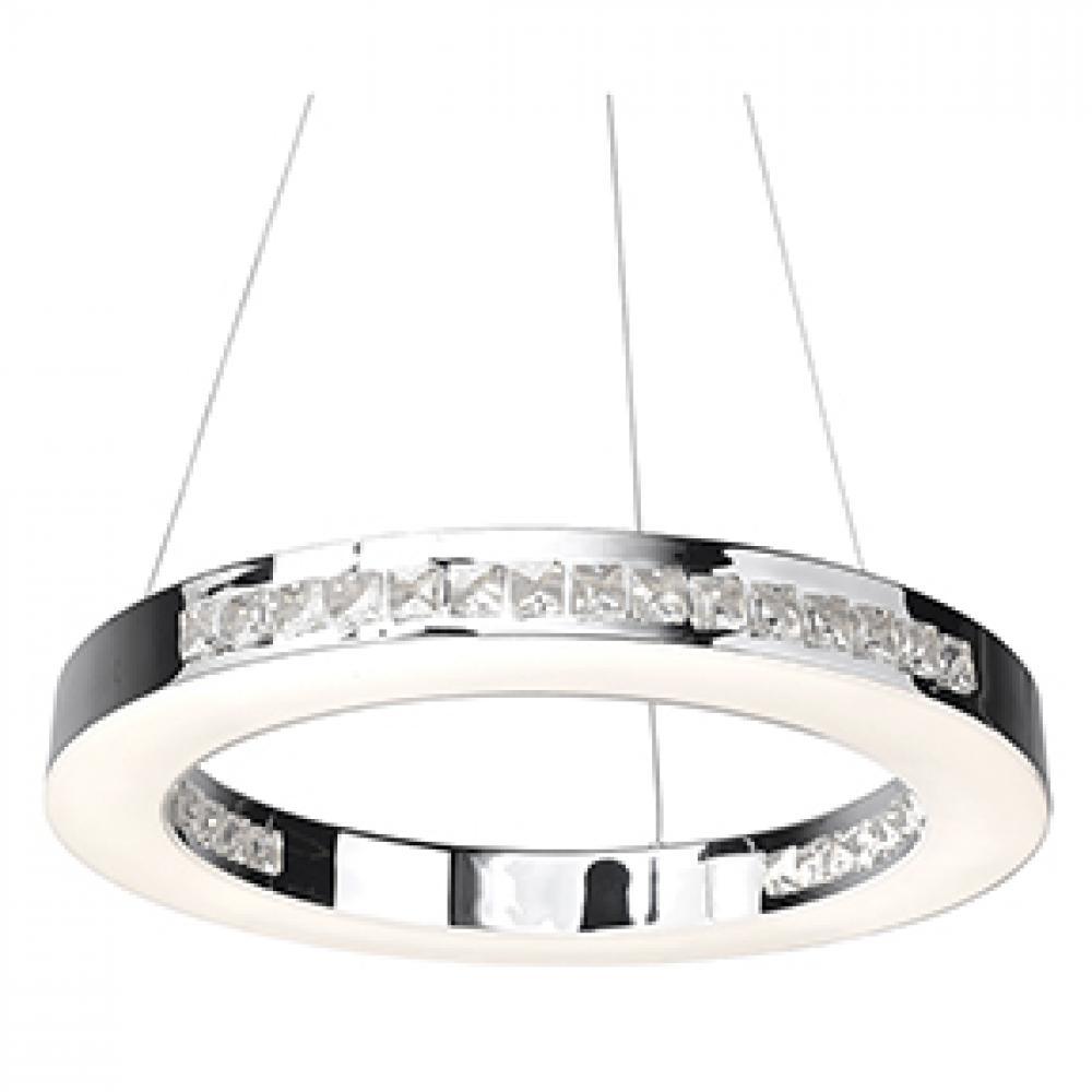 Access Lighting 62454LEDD-CH/CCL Affluence Pendant Light