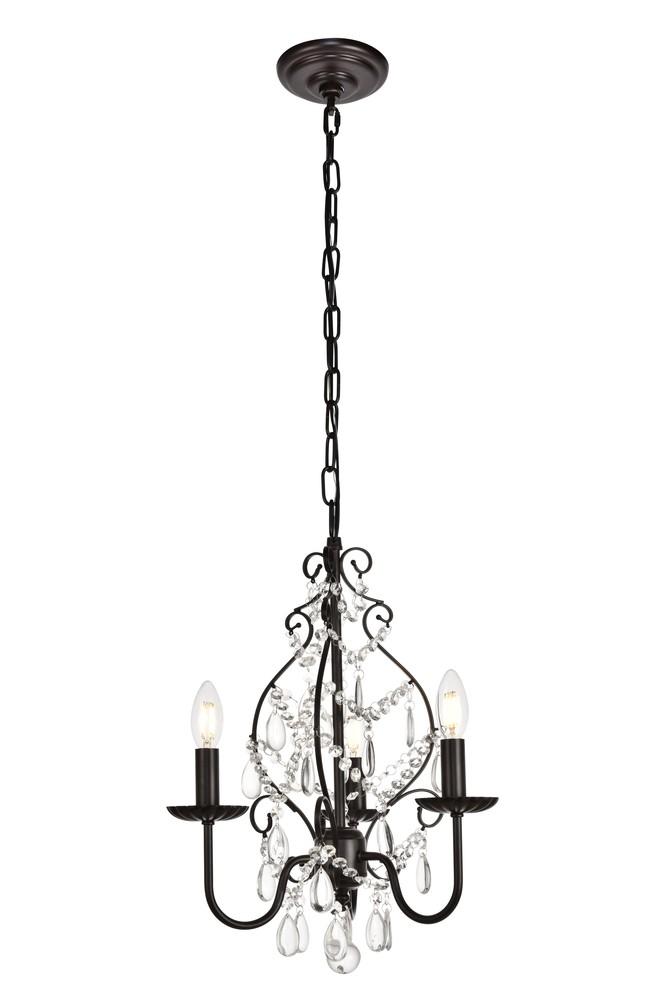 Elegant LD5003D15ORB Blaise Collection Pendant D15 H20 Lt