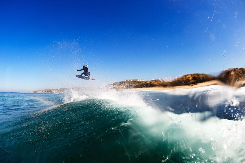 Dion Agius, Portugal, Ericera, art, fine art, prints, surfing photography, Surf, wave, Duncan Macfarlane Photography, Duncan, Surfing, Surf, Photography, Duncanm, Surf Photography, air, Frontside air, Fisheye, Rainbow, waves, Ocean, Duncan Macfarlane,