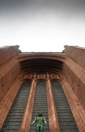 Liverpool Cathedral, from the front steps