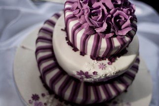 The cake from above