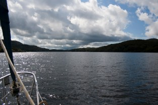 Coniston by boat