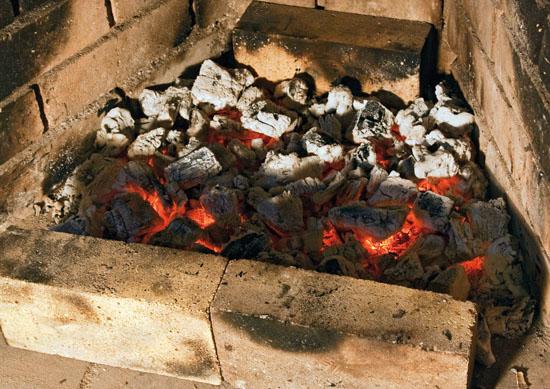 степень готовности углей для приготовления люля-кебаба