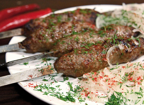 готовый люля-кебаб