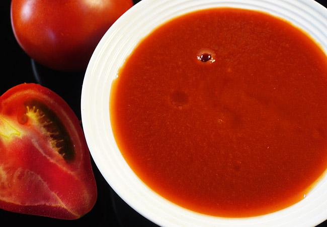 протертые помидоры для томатного супа