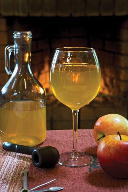 яблочный сидр, приготовленный в домашних условиях