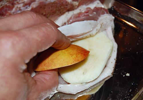 начинка свиной корейки