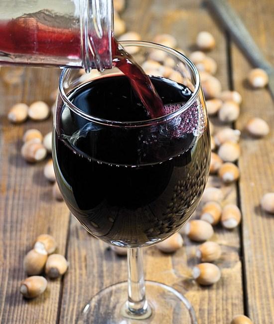 вино из черники, черничное вино