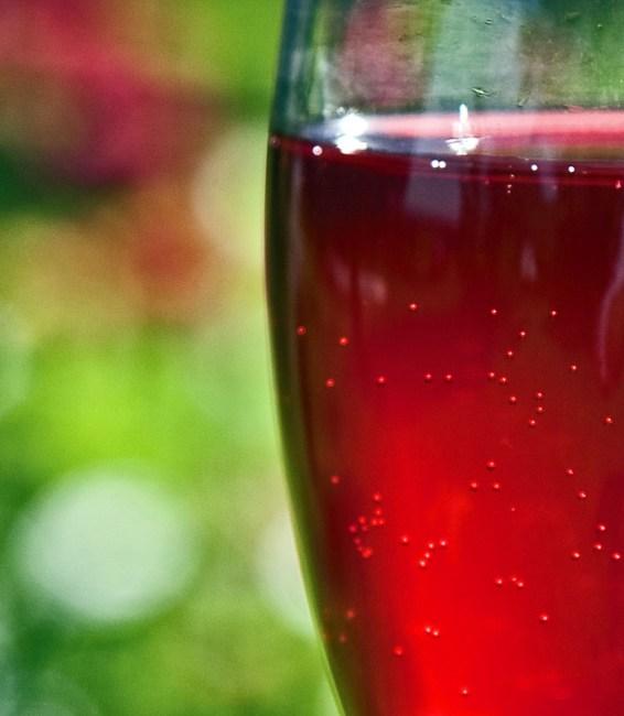 оценка процесса брожения вина из малины