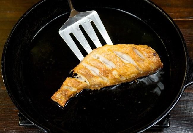 легкая обжарка окуня для рыбного супа