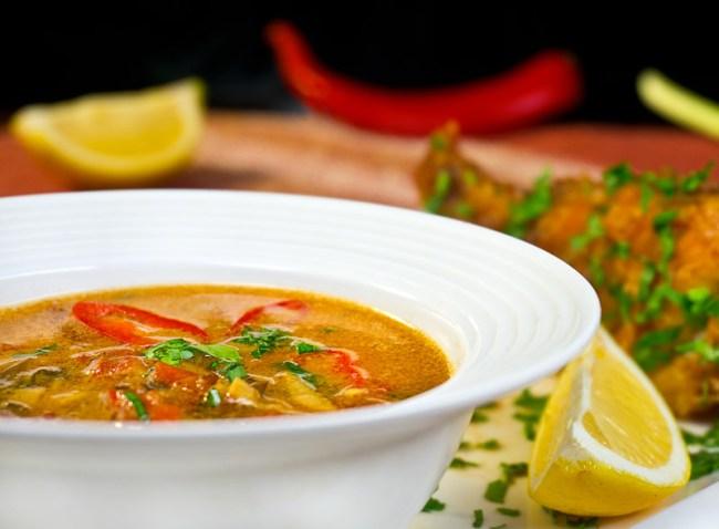 готовый холостяцкий рыбный суп от www.dunduk-culinar.ru