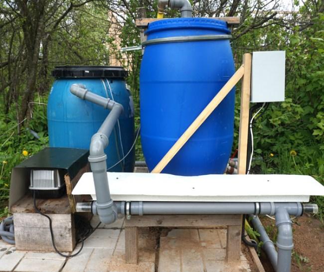 фильтры установки замкнутого водоснабжения
