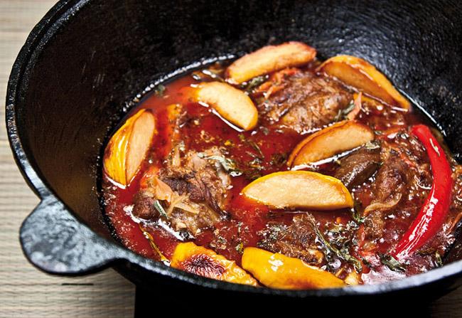 добавление айвы в соус для айвы с бараньими голенями