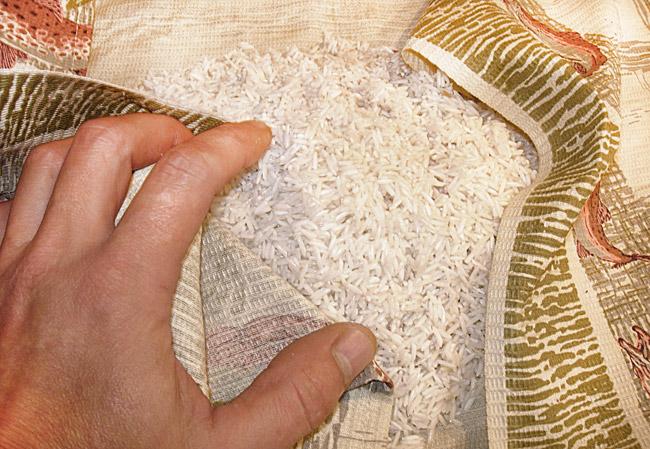 подготовка риса для ведического плова без мяса и овощей