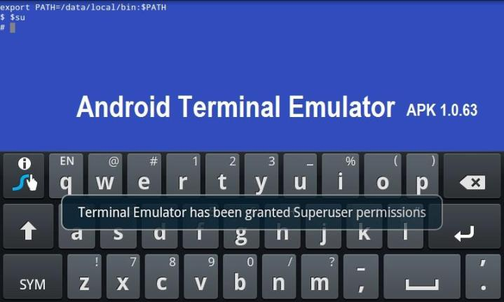 android terminal emulator - ATE