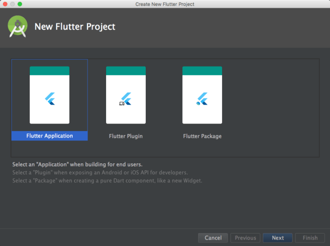 Flutter android studio