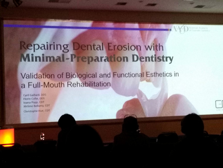 sofia dental meeting minimal preparation dentistry