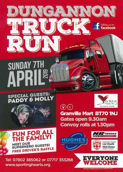 Dungannon Truck Run 2019 poster