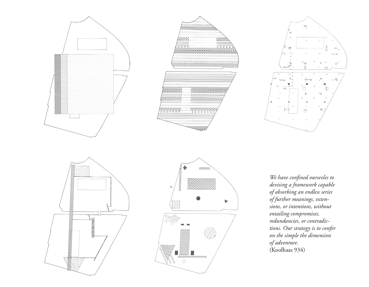oma parc de la villette diagram fender american standard strat wiring về rem koolhaas đô thị học hiện hữu và tương