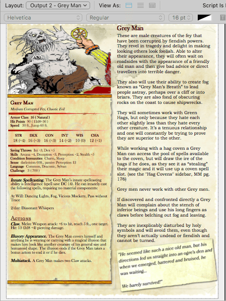 dnd homebrew monsters