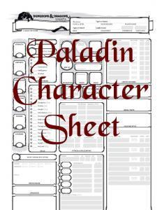 D&D 5E_Paladin_Character_Sheet_(Fillable)_(5E)