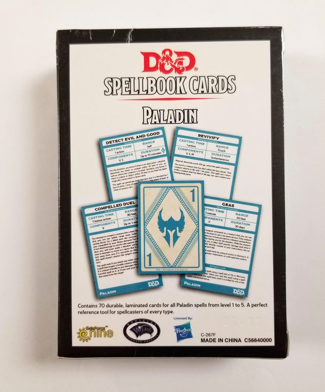 Spellbook Cards Paladin Deck 69 Cards Dungeon S Gate Concentration, up to 1 minute. spellbook cards paladin deck 69 cards dungeon s gate