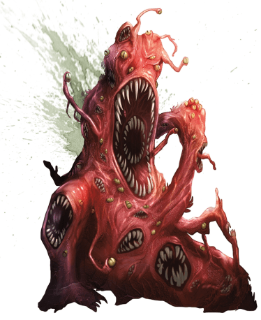 5e Gibbering Mouther Art