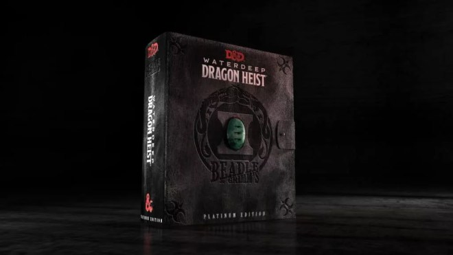 waterdeep dragon heist platinum edition beadle and grimm's