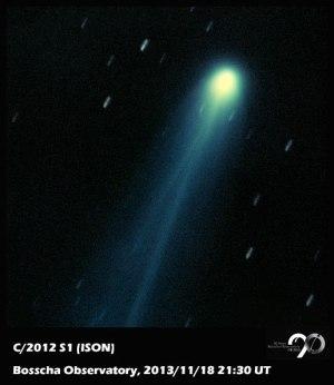 Komet ISON (Sumber: Observatorium Bosscha)