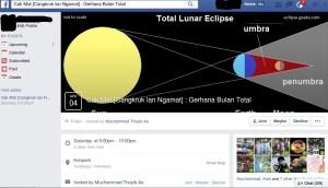 Event Facebook pengamatan GBT di Surabaya