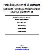 Gambar Ebook Memiliki Situs Web di Internet