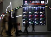 Sindrom Virus Corona Guncang Pasar Finansial Global, IHSG Sempat Merah 247 Poin
