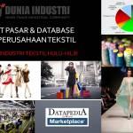 Riset Pasar dan Database 500 Perusahaan Tekstil (Data Industri Tekstil Hulu-Hilir)