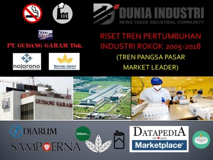"<span itemprop=""name"">Riset Tren Pertumbuhan Industri Rokok 2005-2018 (Tren Pangsa Pasar Market Leader)</span>"