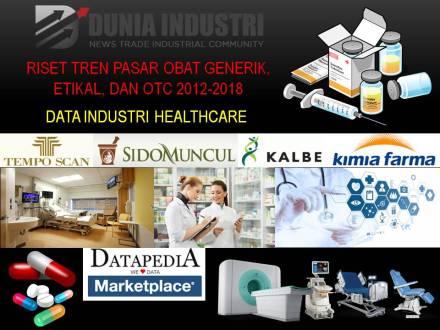 """<span itemprop=""""name"""">Riset Tren Pasar Obat Generik, Etikal, dan OTC 2012-2018 (Data Industri Healthcare)</span>"""