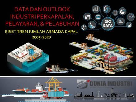 "<span itemprop=""name"">Data dan Outlook Industri Perkapalan, Pelayaran, & Pelabuhan (Riset Tren Armada Kapal 2005-2020)</span>"