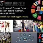 Data Eksklusif Pangsa Pasar Produsen Tekstil, Garmen, Fashion (Market Share Serat hingga Garment)