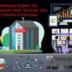 Database Direktori 231 Perusahaan Hotel, Restoran, dan Café di Indonesia