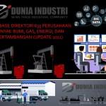 Database Direktori 635 Perusahaan Minyak Bumi, Gas, Energi, dan Pertambangan (Update 2021)