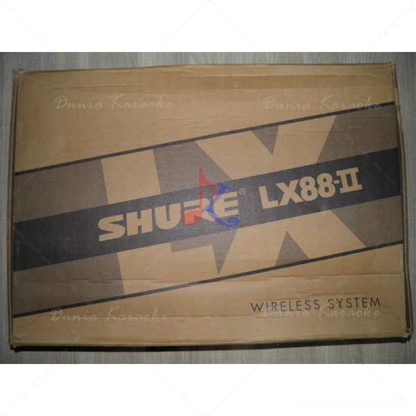 Mic Wireless Shure LX 88 II
