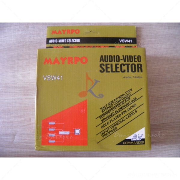 Audio Video Selektor Maypro VSW41