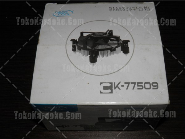 Fan Processor Deep Cool CK 77509